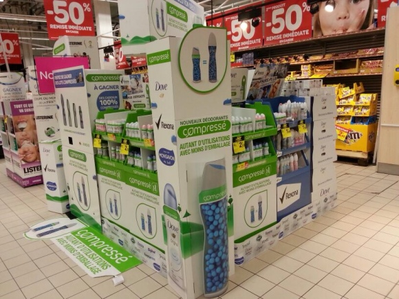 Multibrands Unilever display