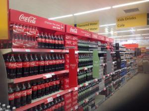 Coke masterbrand in store